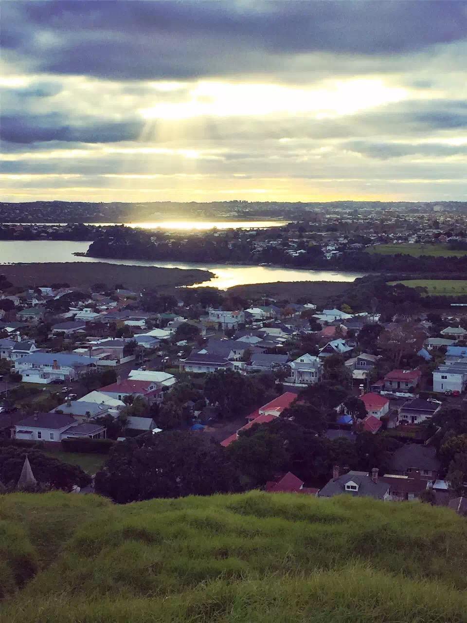 奧克蘭維多利亞山  Mount Victoria, Auckland   -2