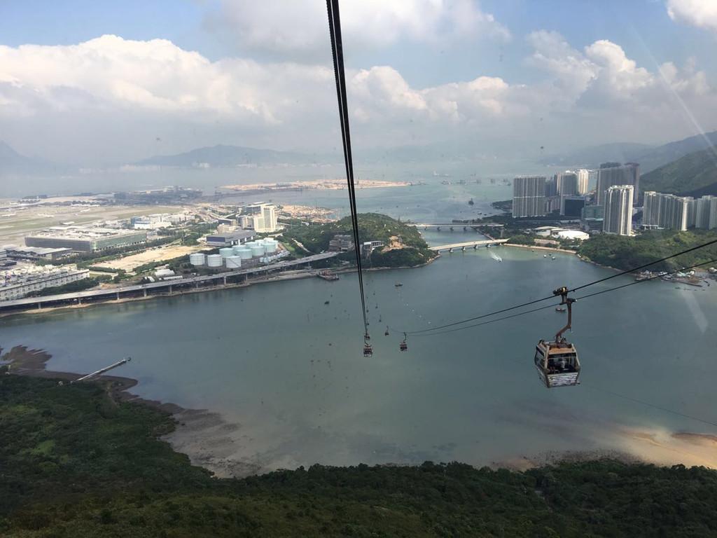 2016年10月28日香港一日游:大屿山岛游记