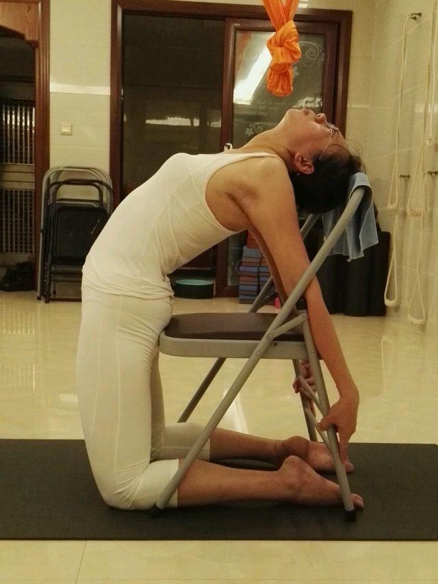 瑜伽开肩方法图解