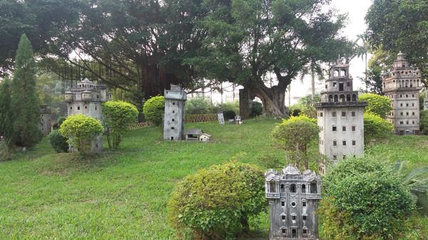 集传统园林,岭南水乡和西方建筑风格于一体的私家图片