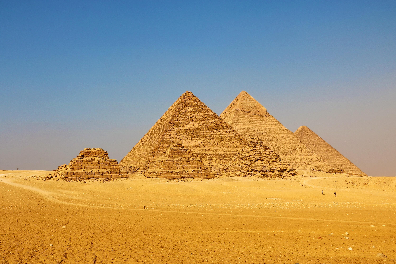 孟卡拉金字塔  Pyramid of Menkaure   -3
