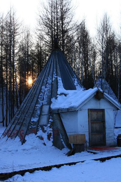 冬季呼伦贝尔,一路向北,游戏冬季恋歌-呼伦贝幼儿园谱写贴人玩法图片
