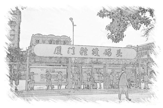 迷失郑州手绘图