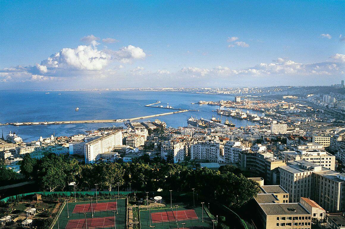 阿爾及爾港及附近地區  Alger Port   -0