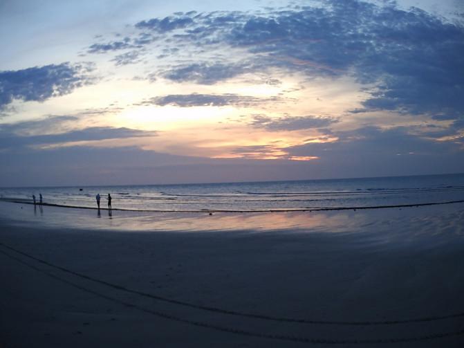 北海 银滩 涠州岛 2016端午自由行(三) 游 沙滩 日出
