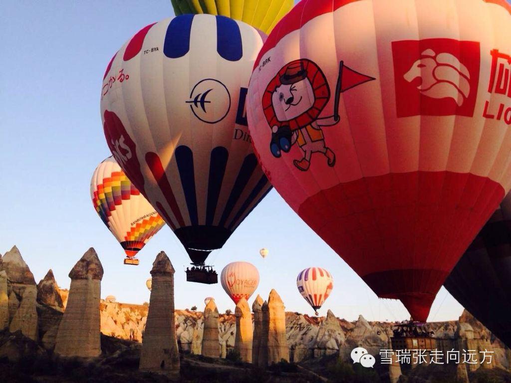 星月伊斯兰土耳其(下)-热气球,卡帕多奇亚,滑翔伞,爱琴海