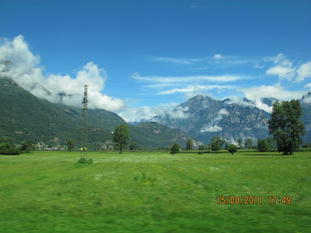 瑞士养眼风景图