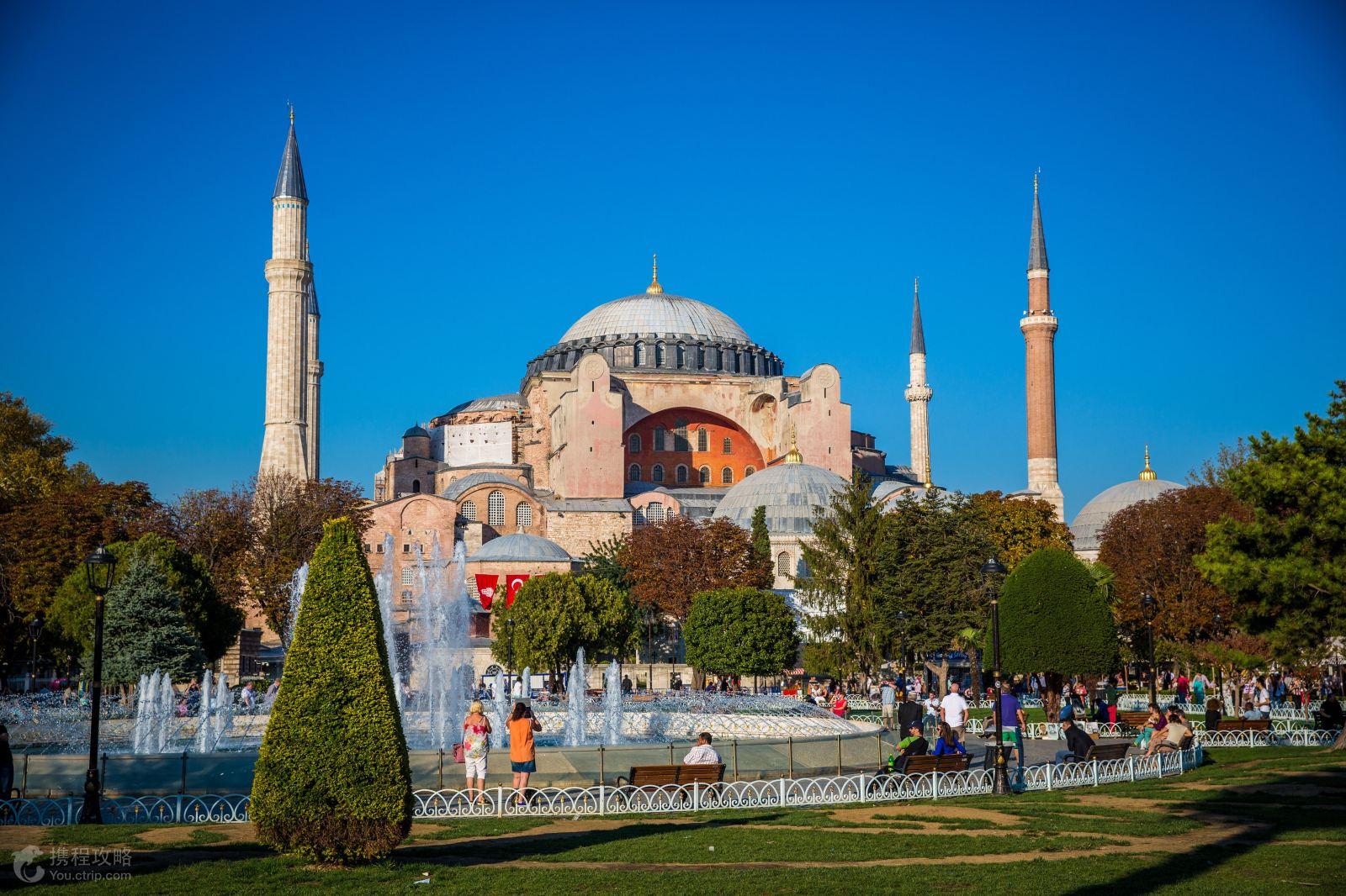 土耳其伊斯坦布尔+卡帕多奇亚+棉花堡+地中海