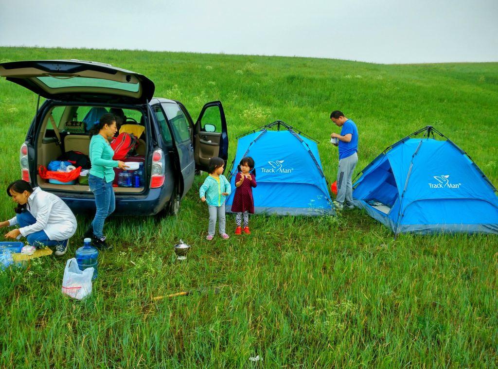 8天朋友露营最美草原呼伦贝尔,沩山的自驾们,v朋友,走起!宁乡天津自助游攻略图片