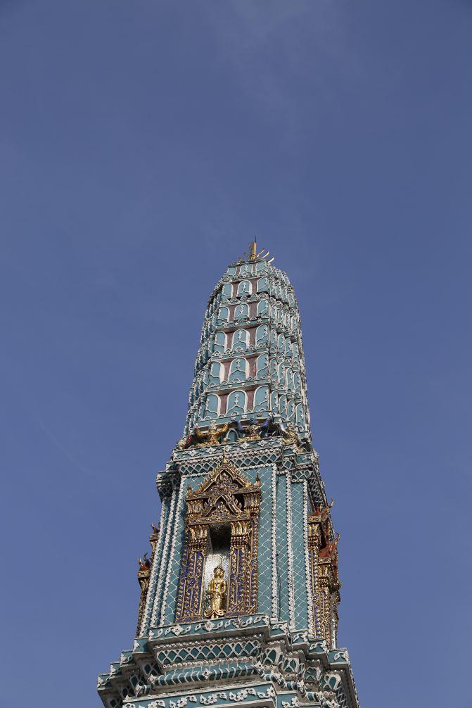 泰国精细建筑手绘图