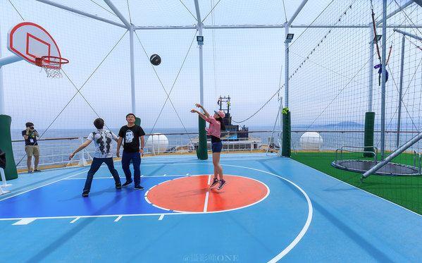 健身中心, 篮球场