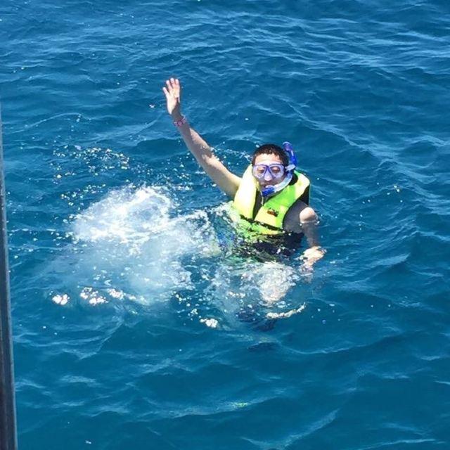 码头在普吉岛最南端的东海岸,乘船大约2小时,记住了,一定要备好晕船药