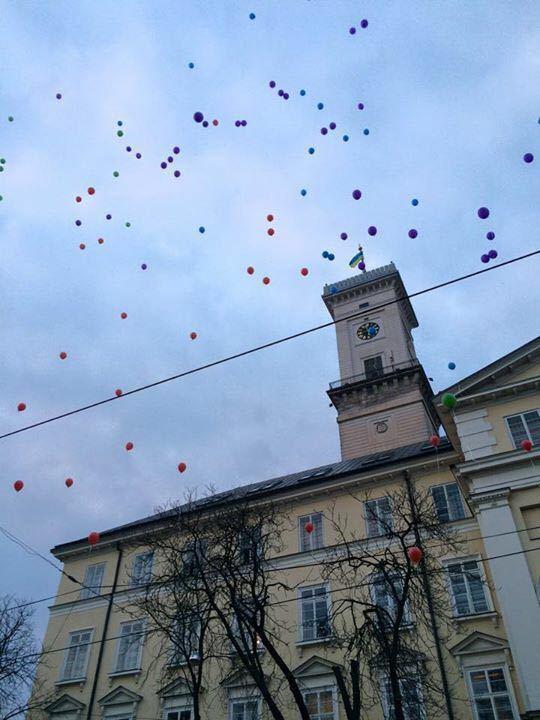 利沃夫市政厅  Town Hall in Lviv   -1