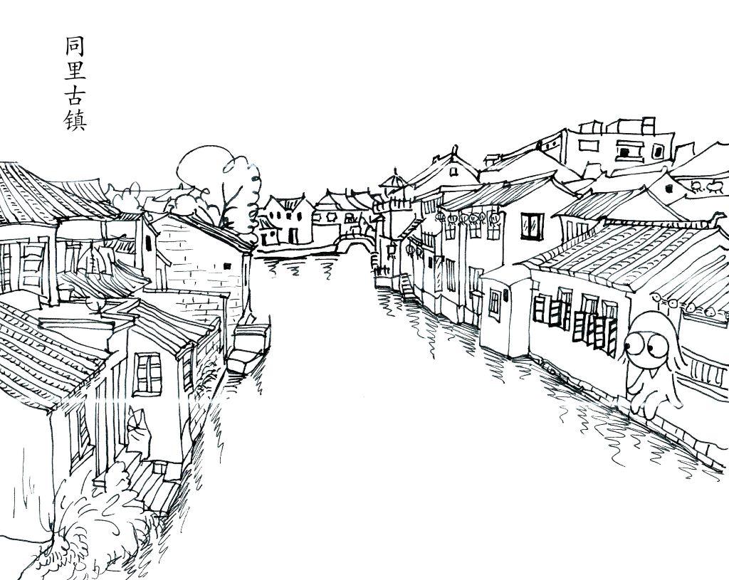 慢游时光——手绘一个人的【下江南】(南京 苏州 杭州