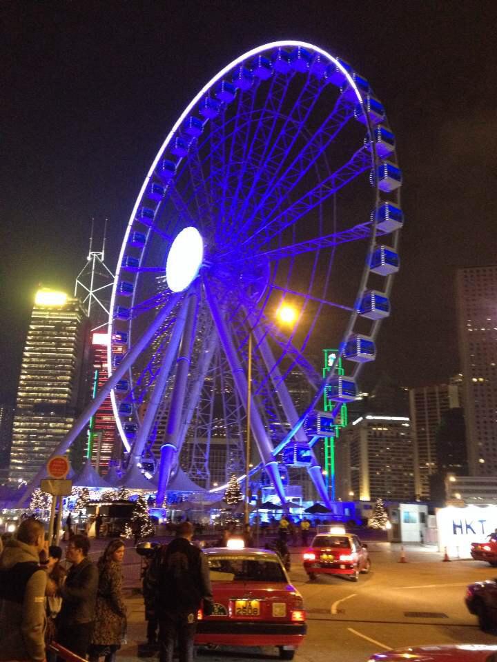 香港新寵-中環摩天輪