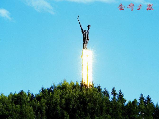 穿越历史梦回悲壮--红军长征纪念总碑 - 松潘游