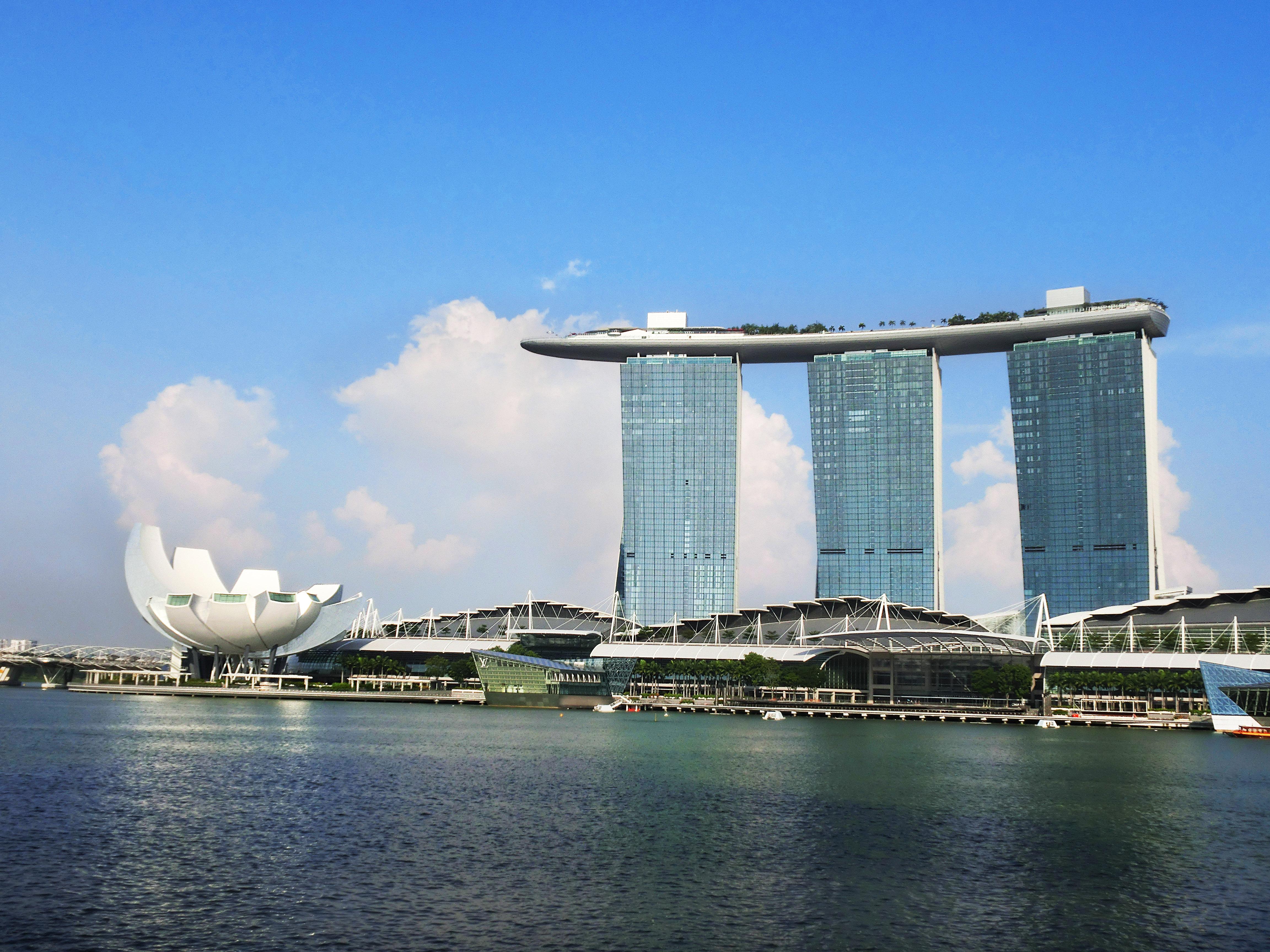 marina bay sands singapore (新加坡滨海湾金沙大酒店)
