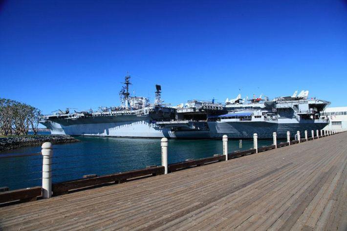 【美国圣地亚哥旅游公园】海洋攻略、中途岛号beaune旅游攻略图片