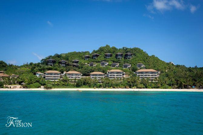 沿途还有高大上的香格里拉酒店,拥有各种海景沙滩,路过农村别墅.150平方私人别墅设计图图片