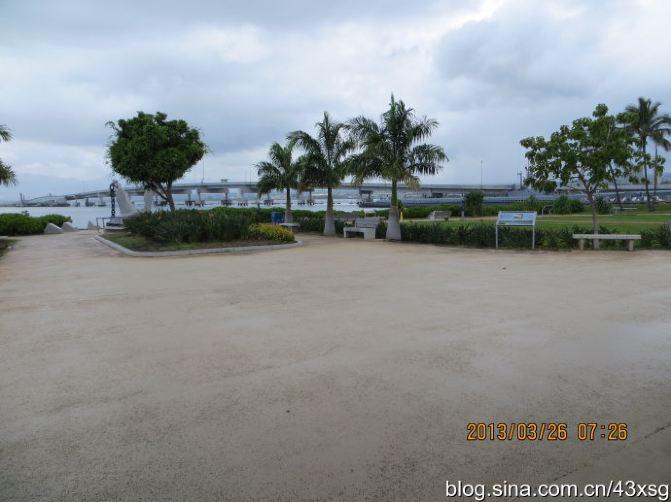 珍珠港纪念公园大门.