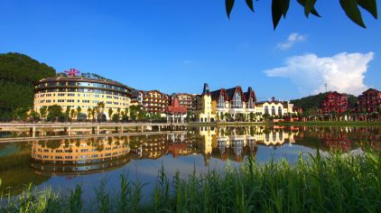 河源巴伐利亚铂莱顿度假酒店1晚 双人黑森林乐园套票图片
