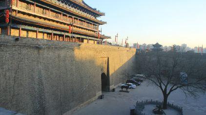 城墙线条简笔画