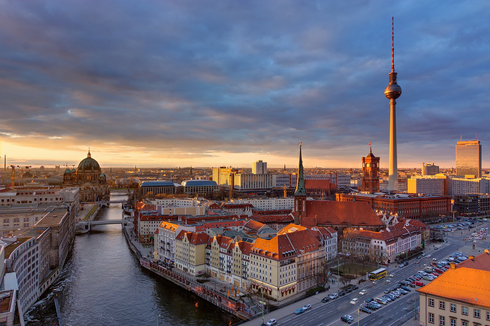 柏林电视塔  Berliner Fernsehturm   -1