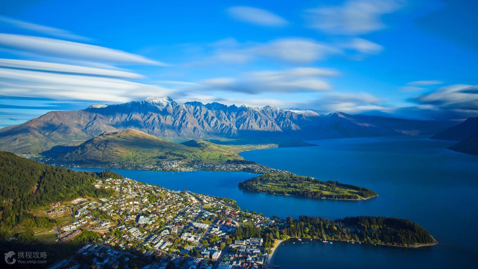 最大的观光牧场,畅游在新西兰的田园风光之中,与新西兰特有的动物零