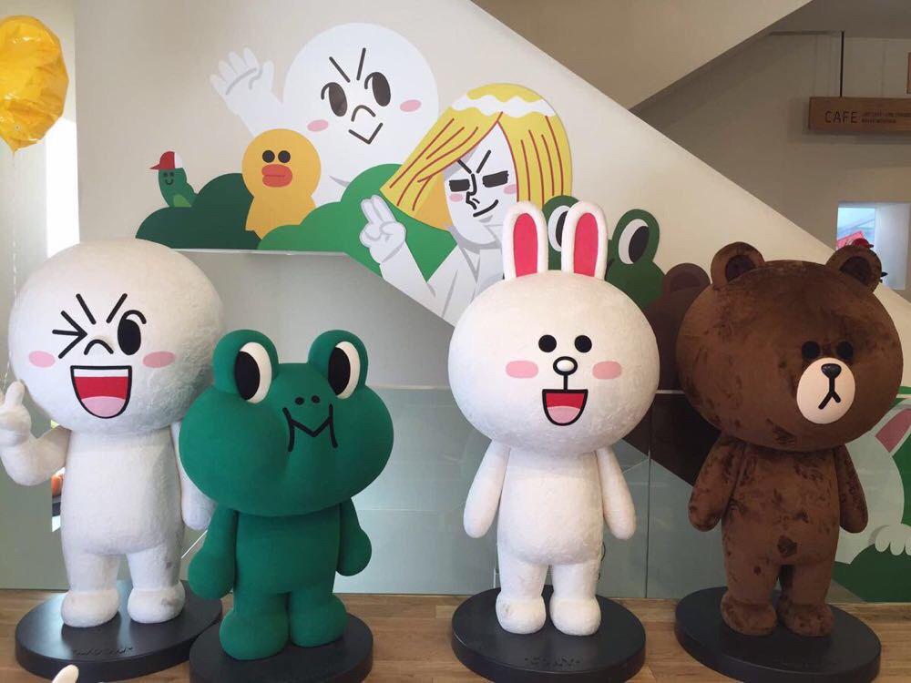 韩国line专卖店攻略