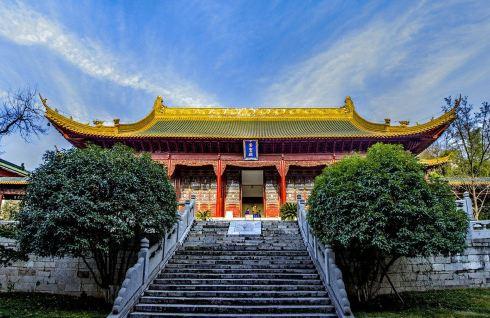游玩南京朝天宫