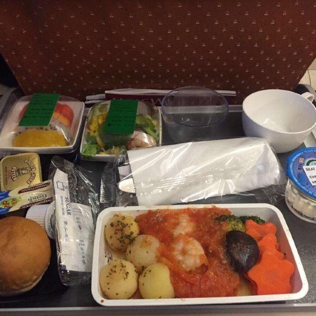 新航的飞机餐不错