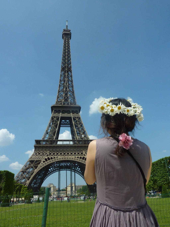 qq风景巴黎铁塔头像