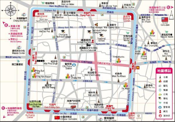 扬州手绘文博馆地图