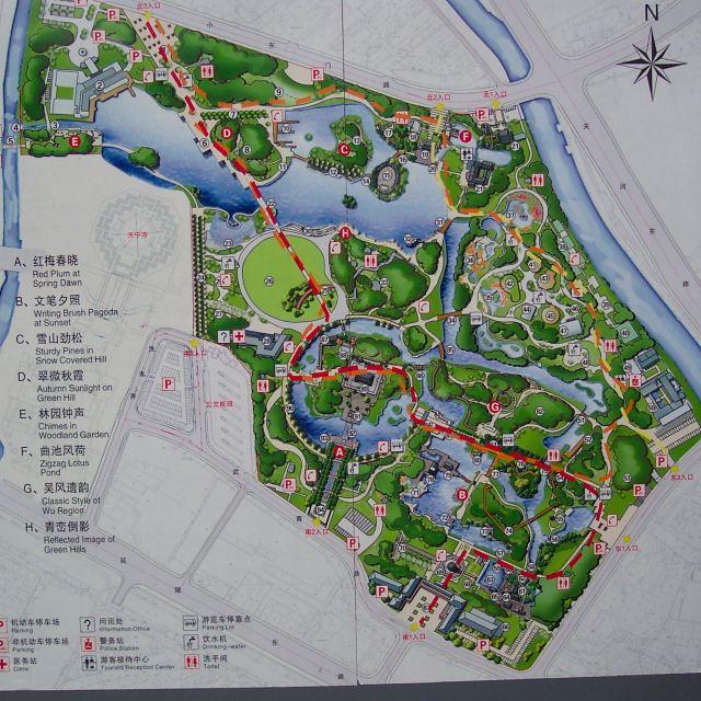 红梅公园地图