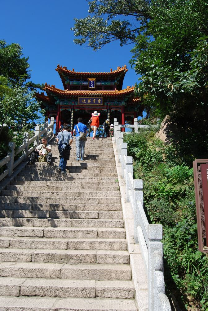 2015自驾游:蓟县-攻略一日游-北京攻略盘山【翠云廊自由行游记图片