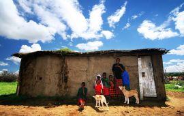 马赛马拉国家公园肯尼亚马赛村落天气预报,历