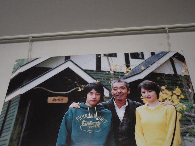 二宫和也,长泽雅美和寺尾聪.这大概是十年前了吧,尼糯米好嫩的.图片