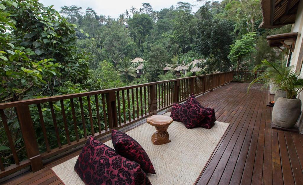 乌布空中花园酒店-巴厘岛上的世外桃源