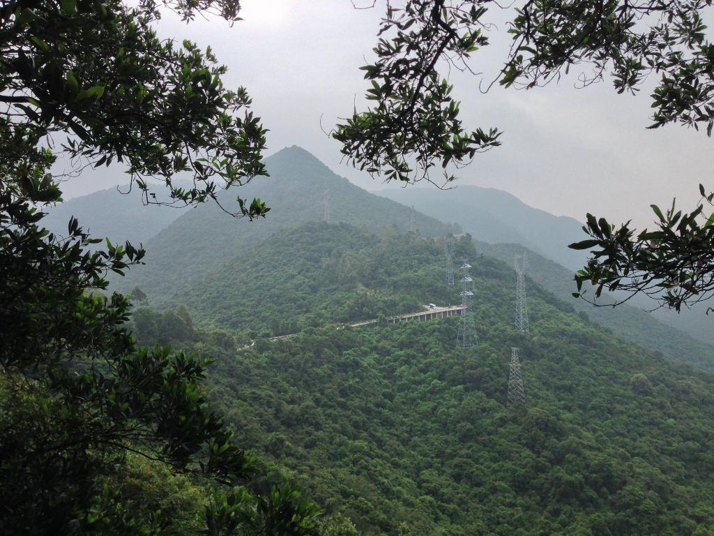东莞樟木头观音山登山