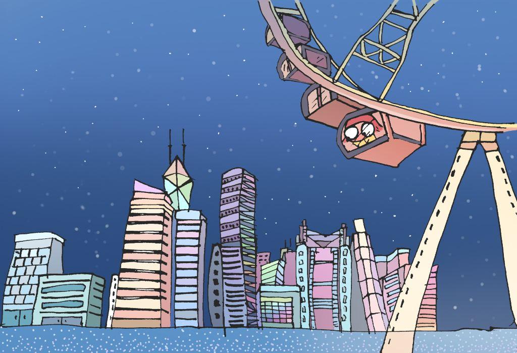 慢游时光—手绘最全的香港一日游攻略(人文无购物)