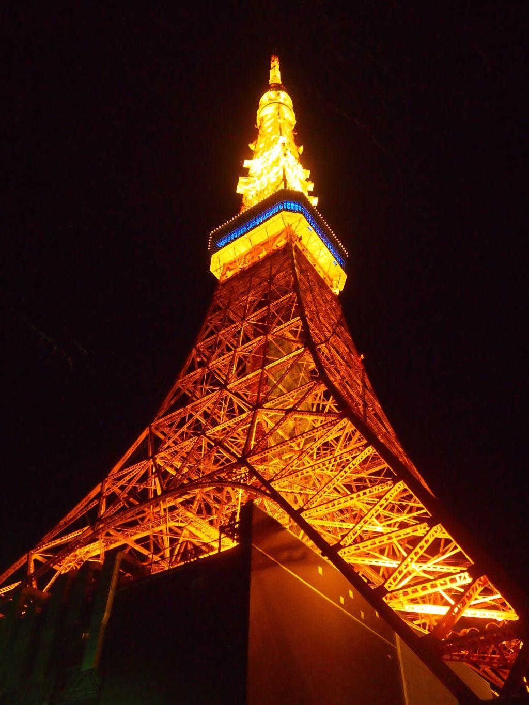 东京铁塔矢量图