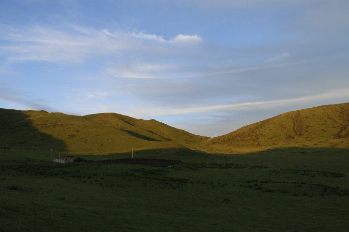 路边的风景,真实自然的风光——若尔盖草原之行