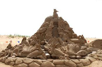 武汉公主景点周边附近沙雕,公园公园文化文化级奇迹攻略暖暖沙雕109图片