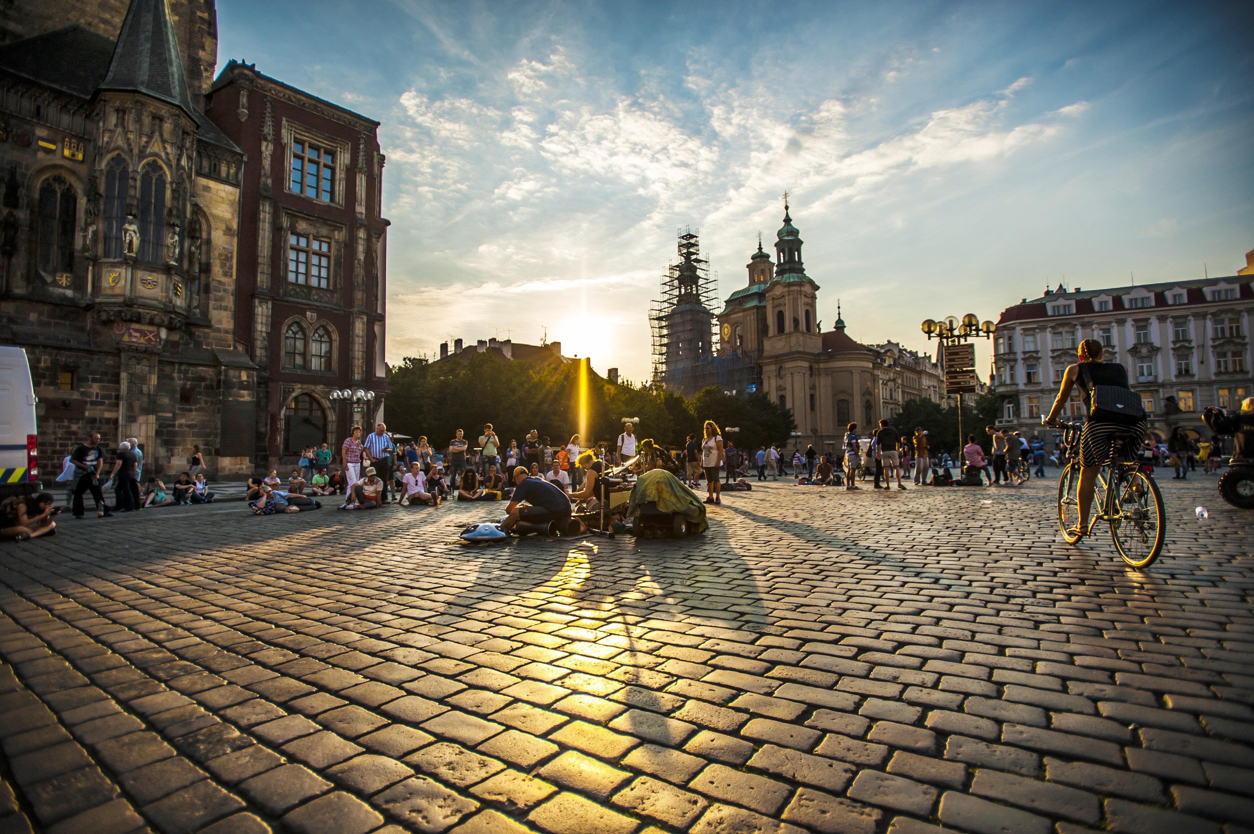 布拉格城堡+圣维特大教堂+旧皇宫+查理大桥+布拉格天文钟+布拉格老城