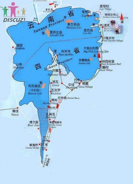 第二天:大落水村码头乘猪槽船游里务比岛——泸沽湖观景台——草海