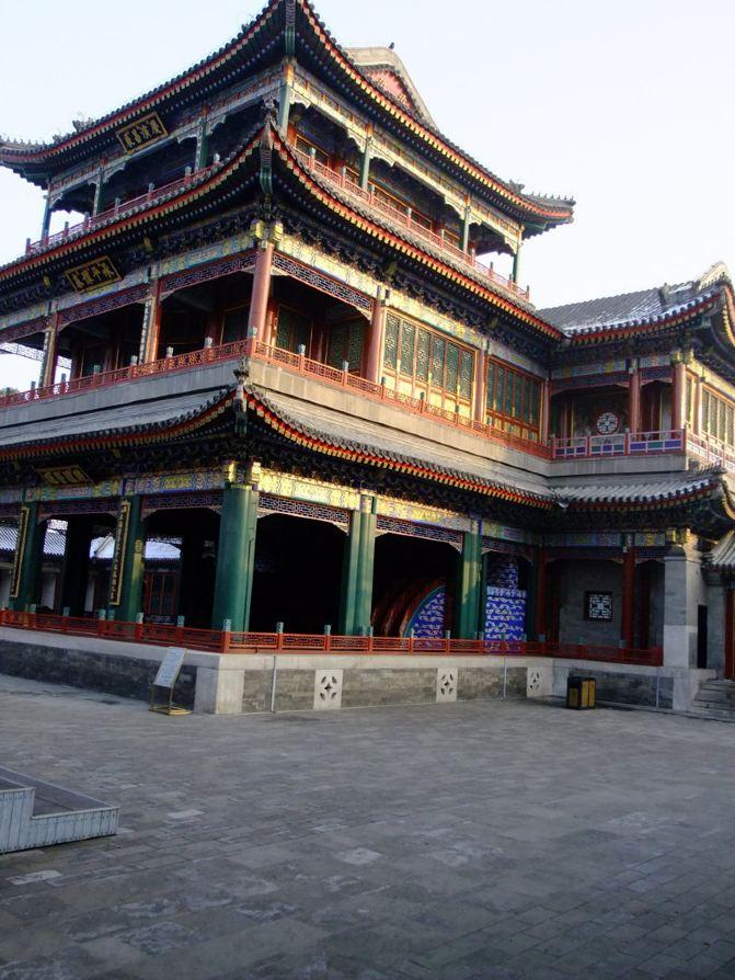 带着4岁半青蛙登泰山中国游北京城-长城朋友v青蛙攻略北京之旅女儿喂食游记图片