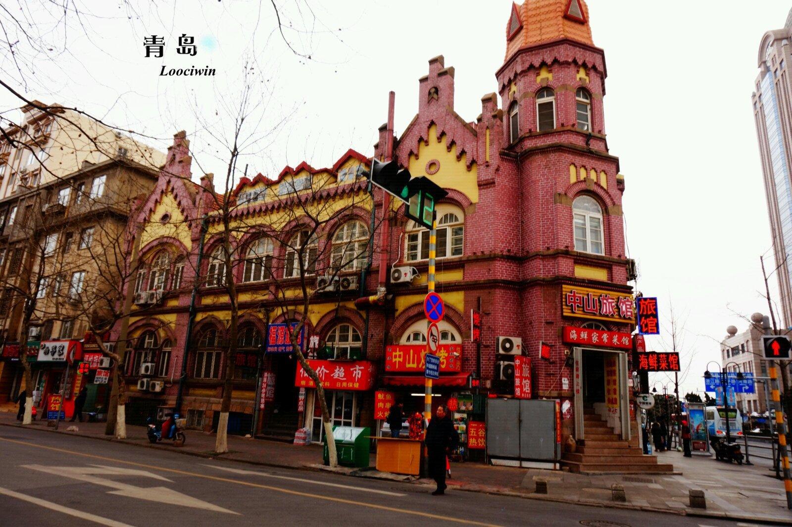 壁纸 步行街 建筑 街道 街景 商业街 1600_1065