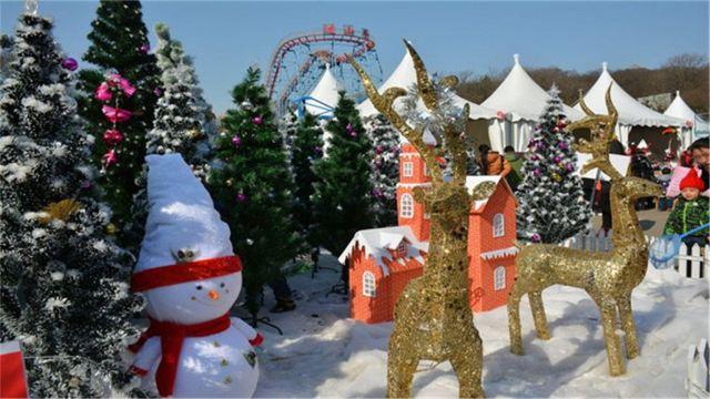 南京珍珠泉景区 珍珠泉野生动物园(含百兽盛会,梦幻剧场) 奇幻冰雪