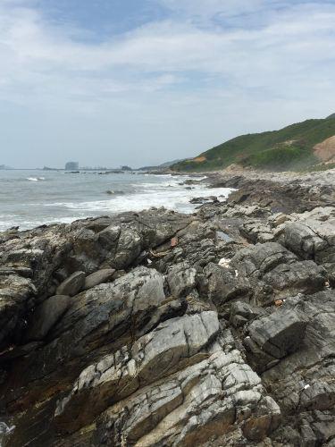 2015年八月轻松海滩游-惠东盐洲岛a海滩民间-玩法游戏小推车之旅图片
