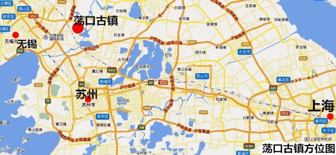 随手拍#韦金勇:没想到荡口古镇不逊色乌镇西栅 没想到9元钱可上海往图片